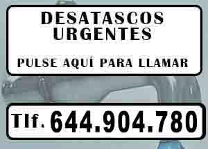 Desatascos Albatera Urgentes